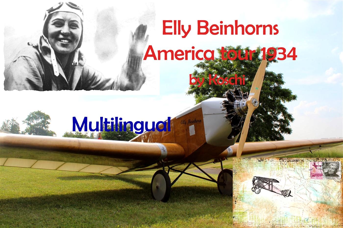 Elly Beinhorn's American flight in 1934 Flight Simulator 2020