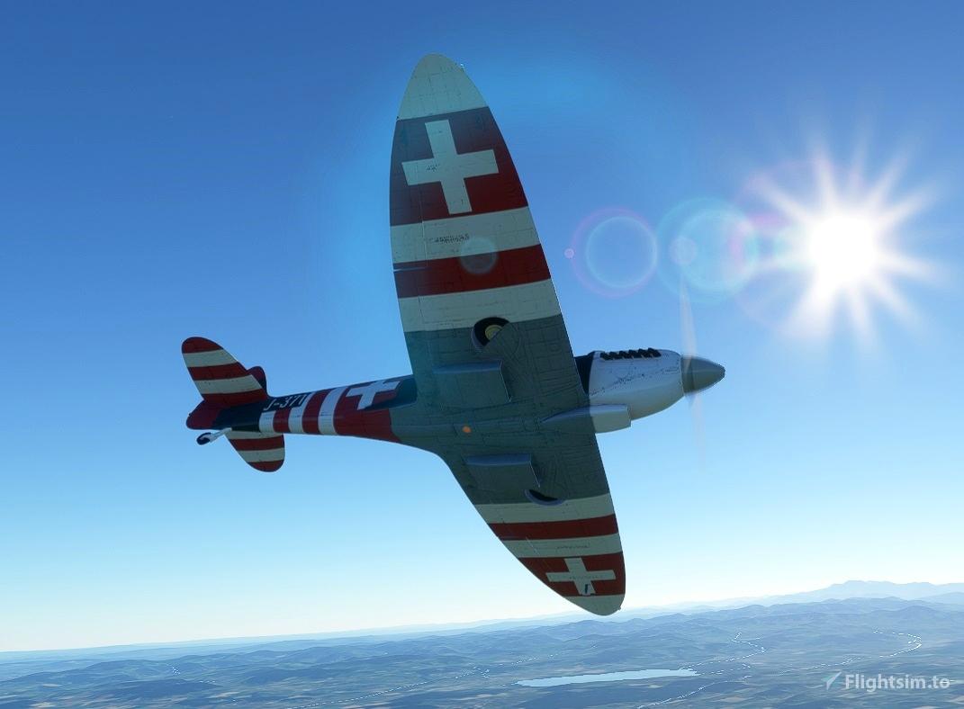 Spitfire J-371 Swiss Air Force