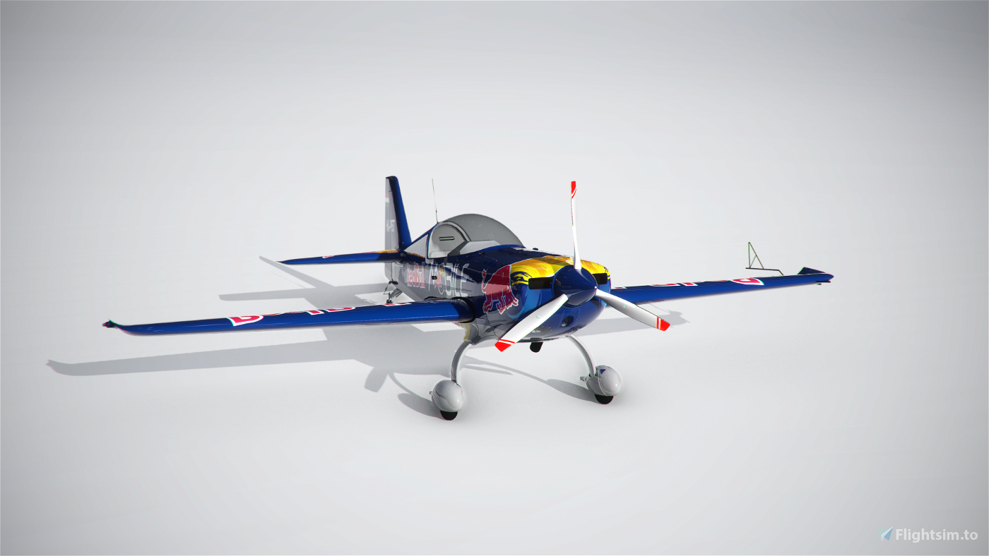 EXTRA330 HA-PET - Red Bull Mobile Livery (Peter Besenyei) Flight Simulator 2020