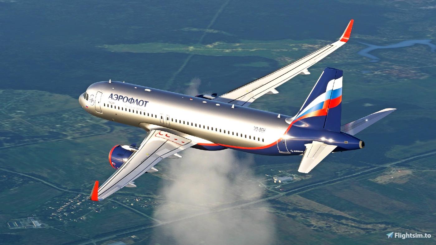 Aeroflot A320Neo [8K] - FBW A32NX