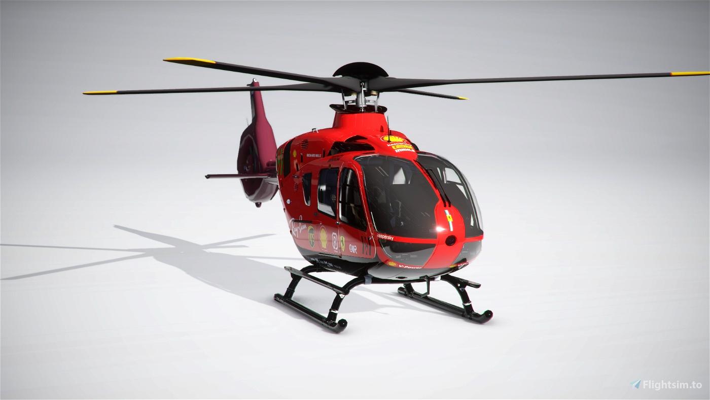 Airbus H135 Scuderia Ferrari Mission Winnow F1 Team Flight Simulator 2020