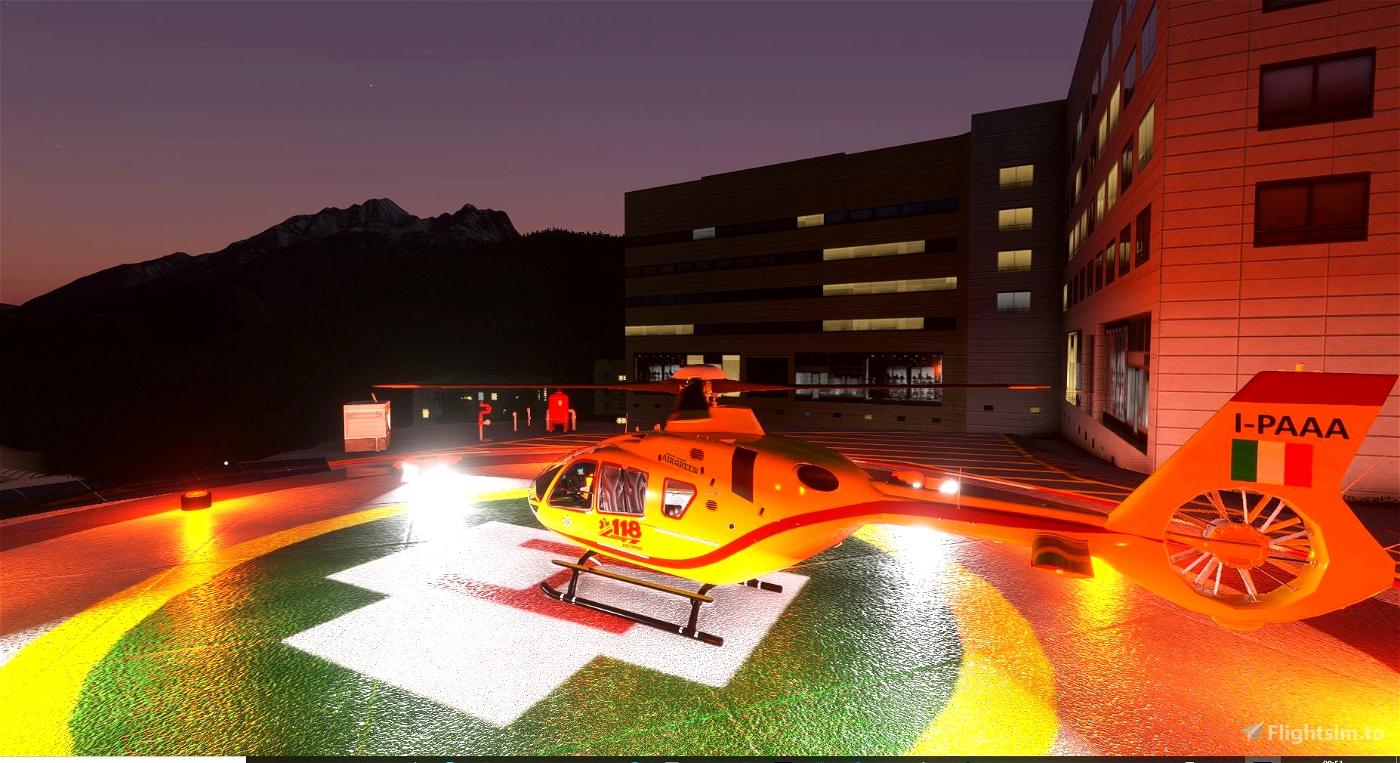 Elisuperficie Ospedale Pieve di Cadore