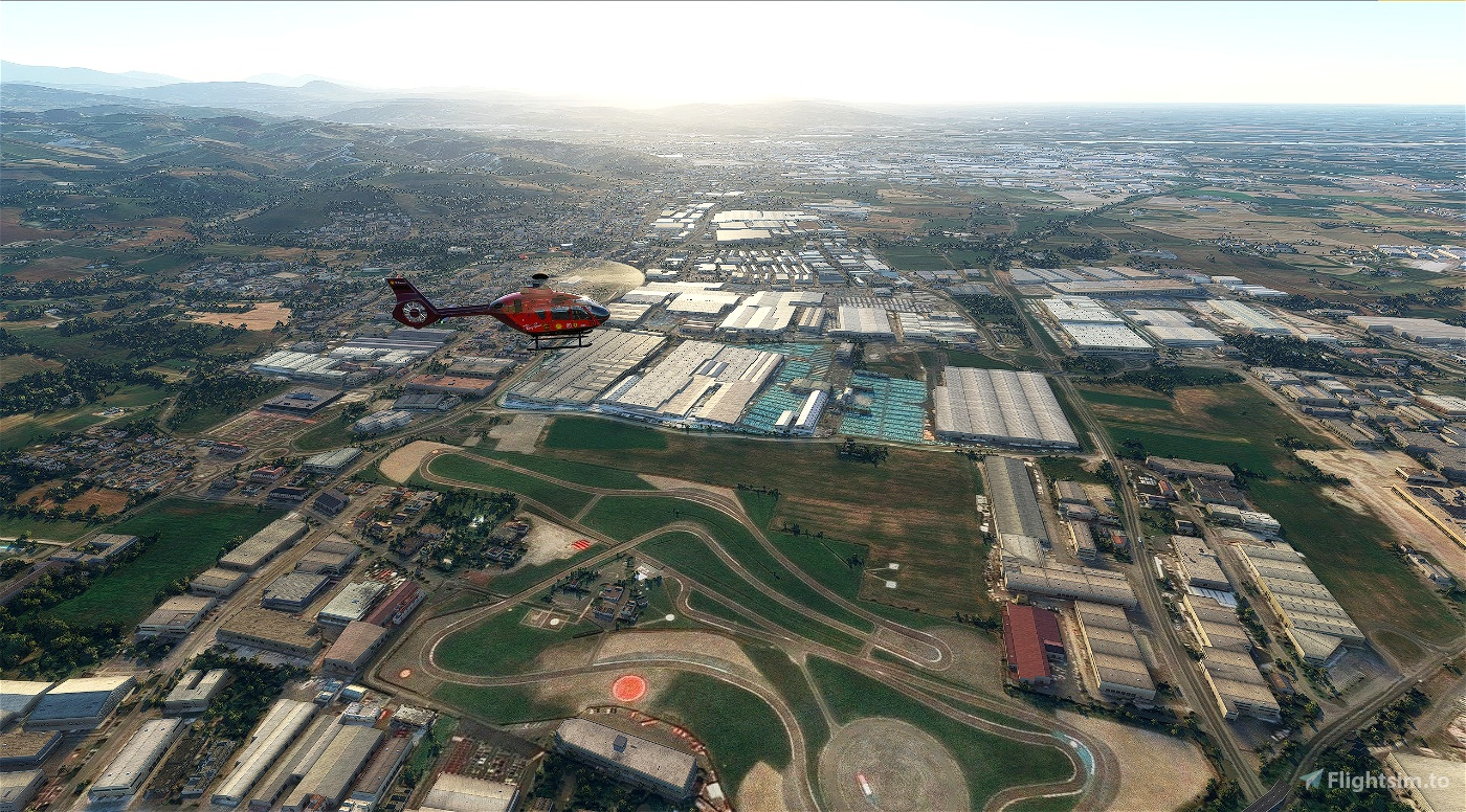 Airbus H135 Scuderia Ferrari Mission Winnow F1 Team