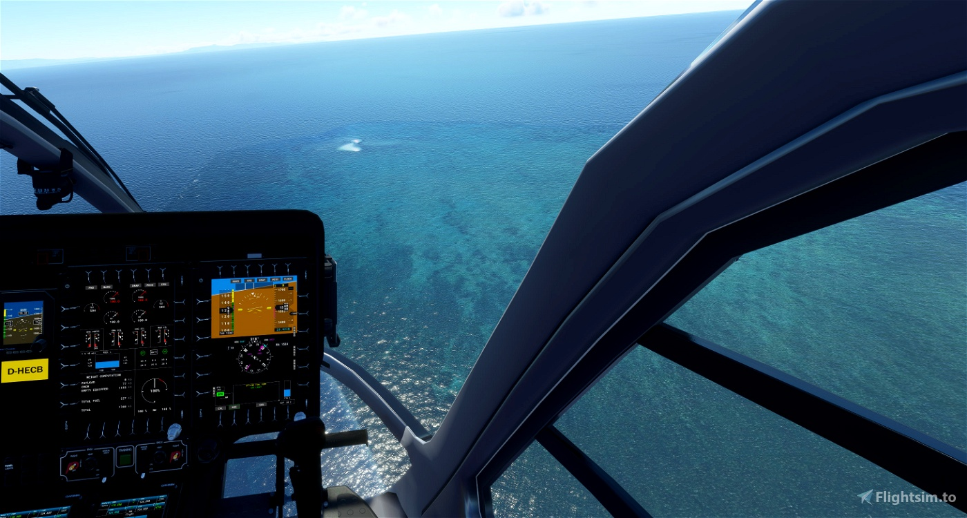 Green Island Great Barrier Reef and Cairns Helipads