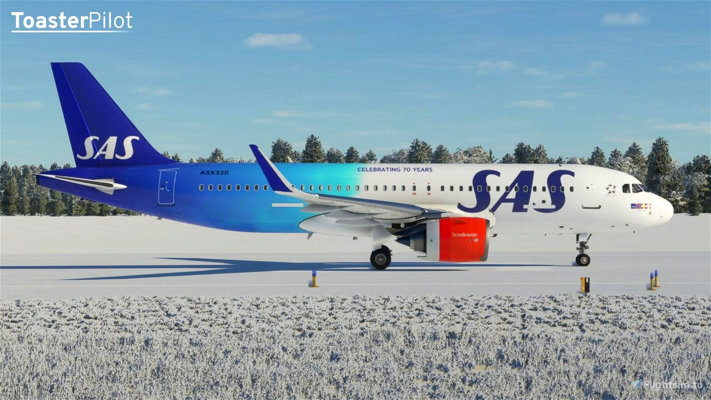8K SAS Special Liveries Two-Pack (A32NX)