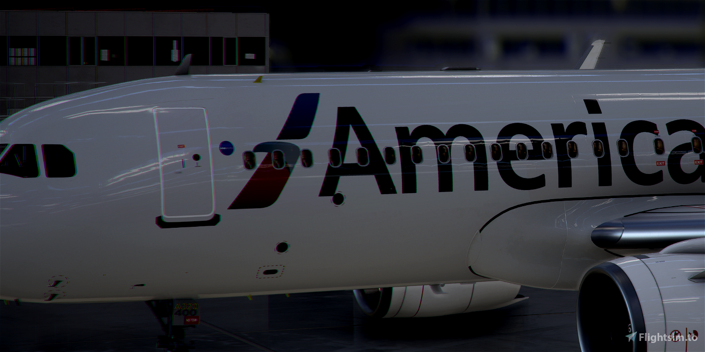 [A32NX] FlyByWire | Airbus A320neo American Airlines N400AN in 8k