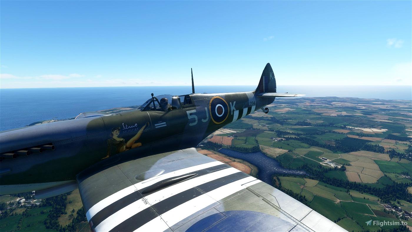 Spitfire Mk IXc Muscat Girl