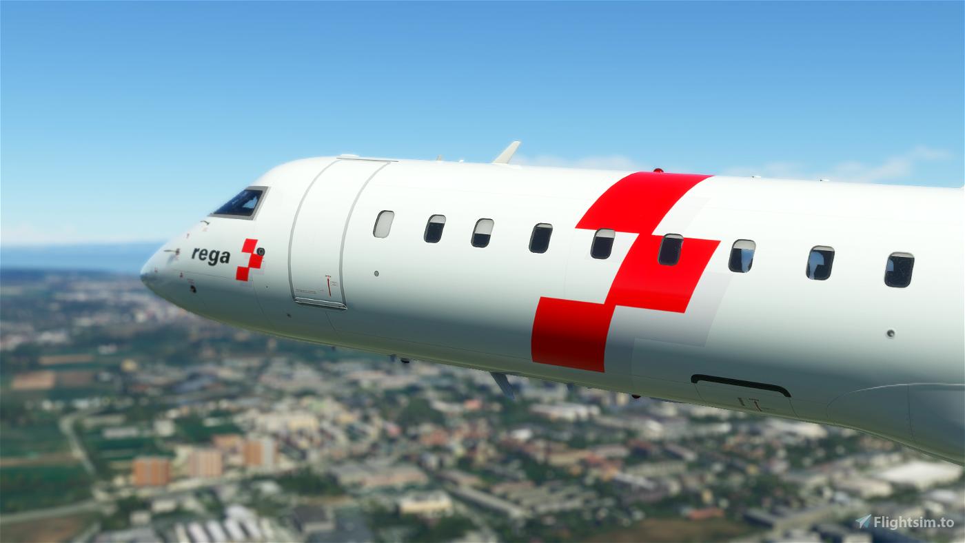 REGA (air rescue) CRJ 550 - 8K