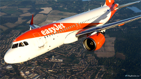 EasyJet A320Neo (Dirty) [8K] - FBW A32NX Image Flight Simulator 2020