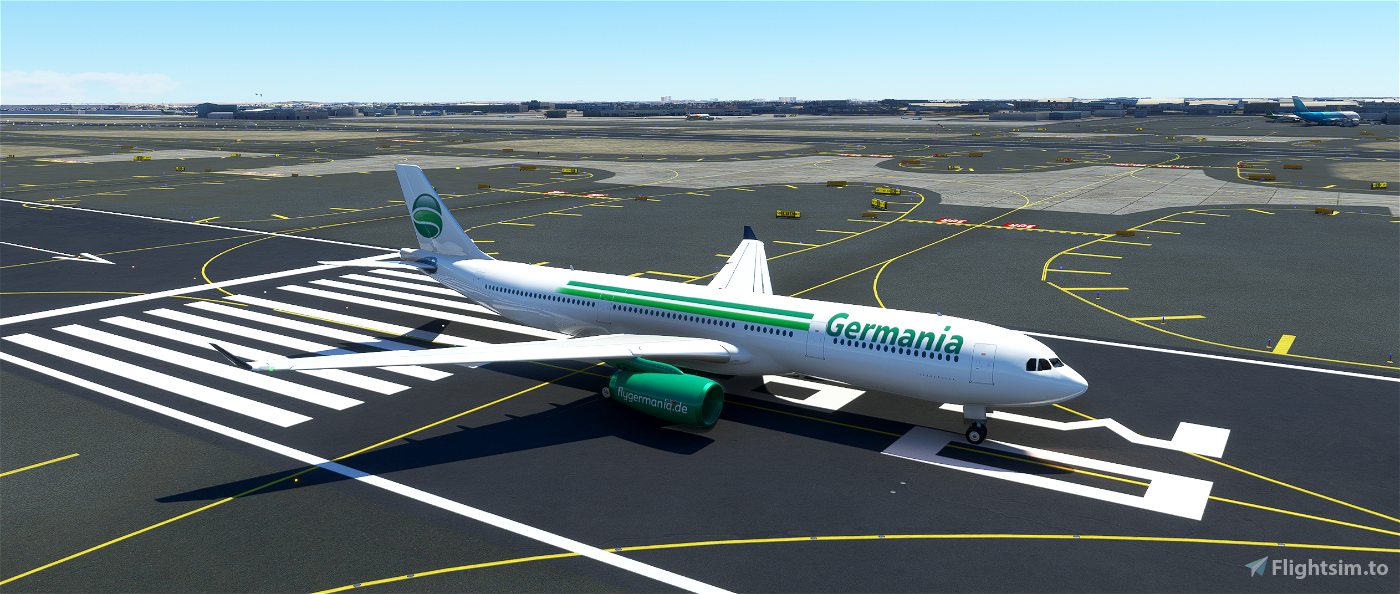 PMP Airbus A330-300 - Germania Flight Simulator 2020