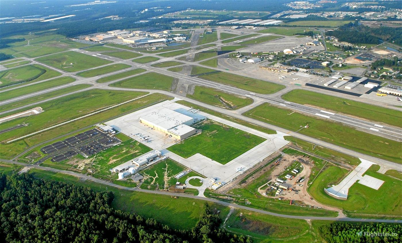 KSAV (Savannah/Hilton Head) real passenger routes Flight Simulator 2020