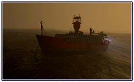 Animated Light Vessel East Goodwin Image Flight Simulator 2020
