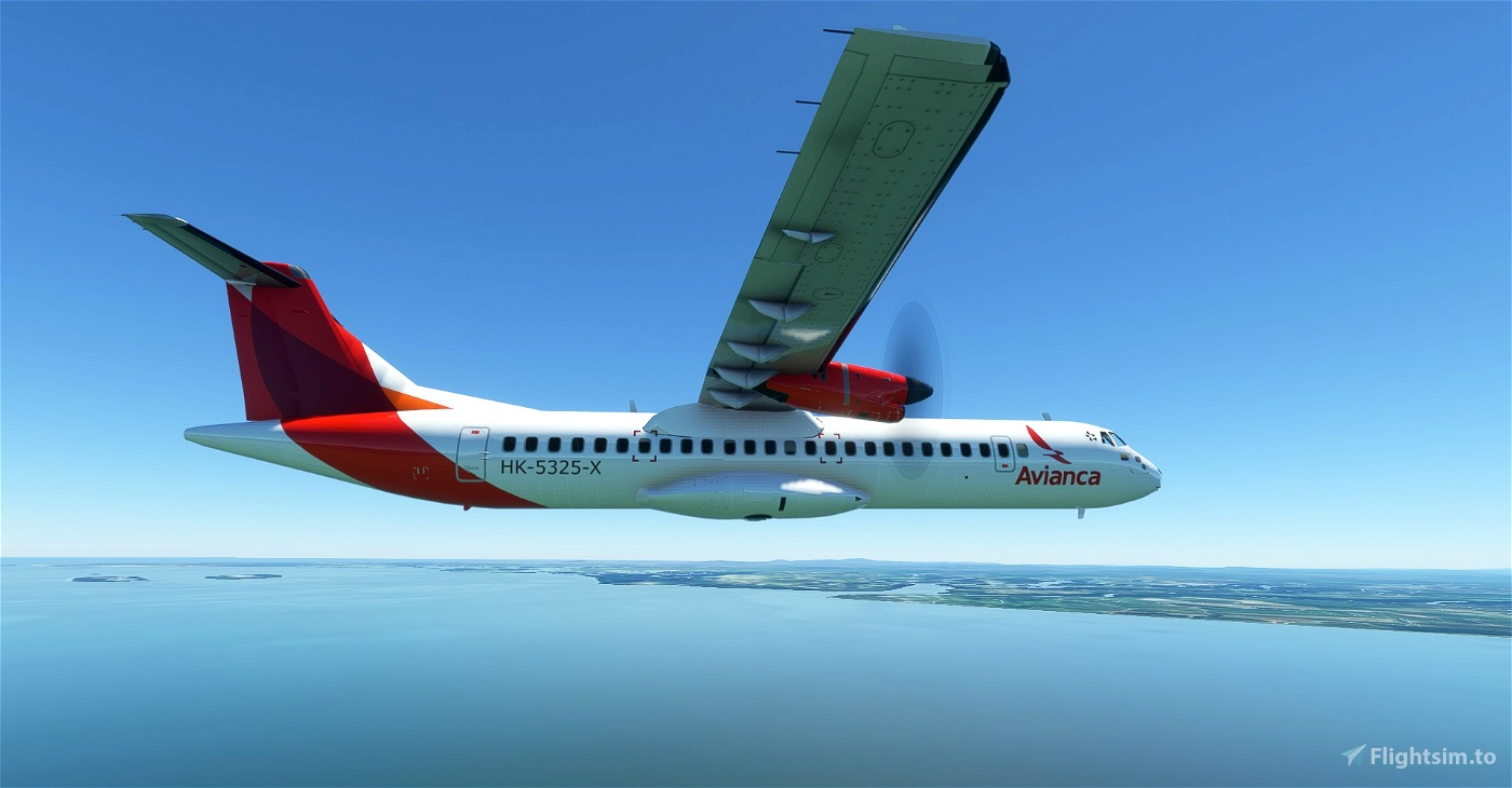 Avianca ATR 72-600 8K