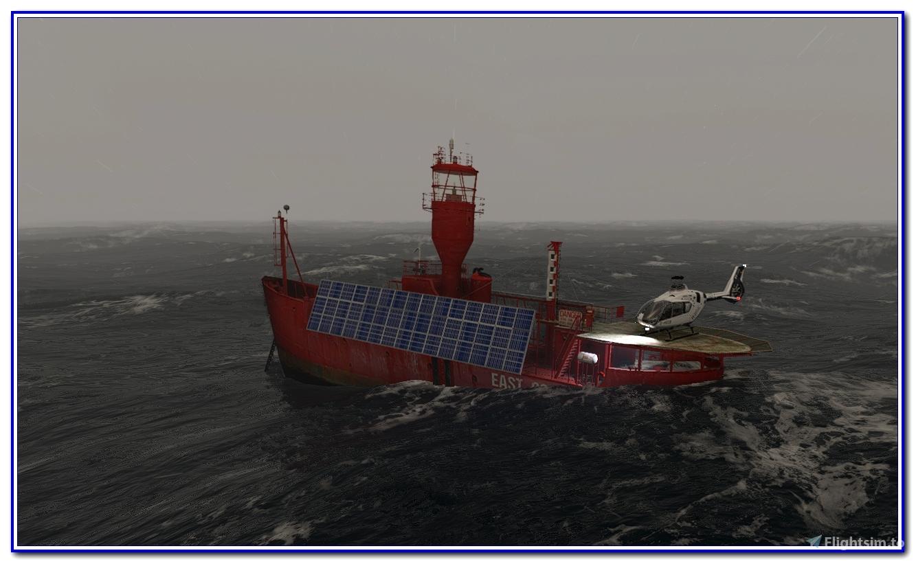 Animated Light Vessel East Goodwin