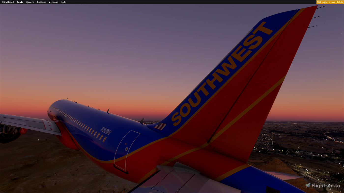 [A32NX] Southwest Airlines|Canyon Blue (2001) Flight Simulator 2020