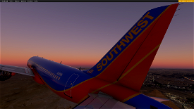 [A32NX] Southwest Airlines|Canyon Blue (2001) Image Flight Simulator 2020