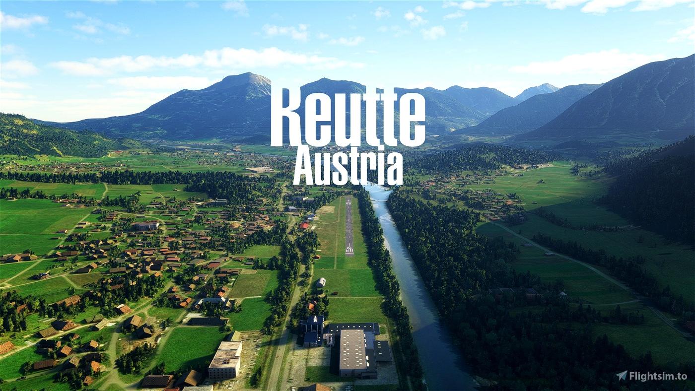 [LOIR] - Reutte-Höfen Airport, Austria Flight Simulator 2020