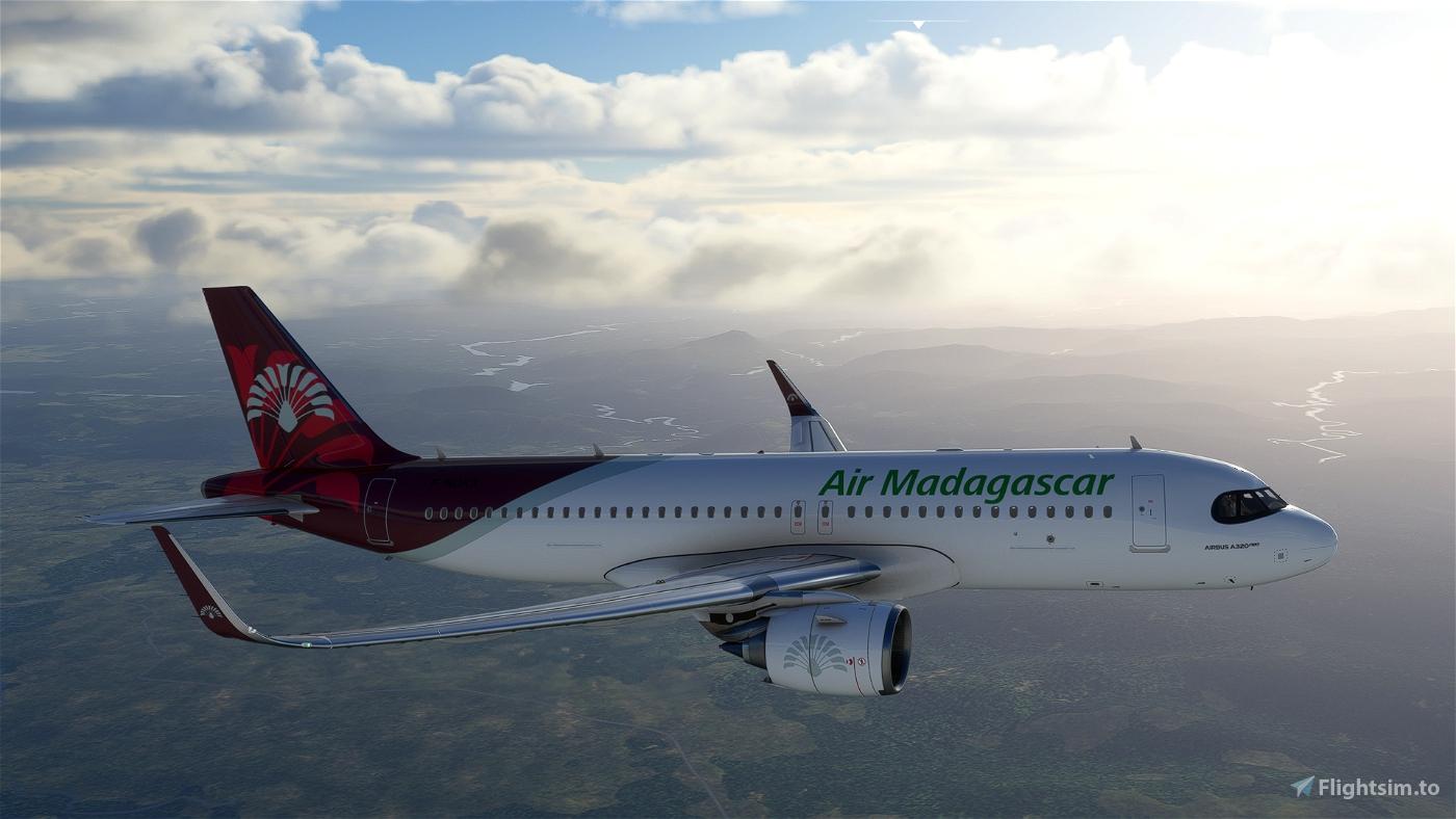 [A32NX] FlyByWire A320neo Air Madagascar 8K