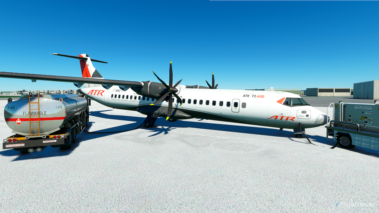 ATR 72-600 Community Version Flight Simulator 2020