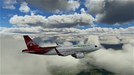 [A32NX] FlyByWire A320neo Air Madagascar 8K Image Flight Simulator 2020