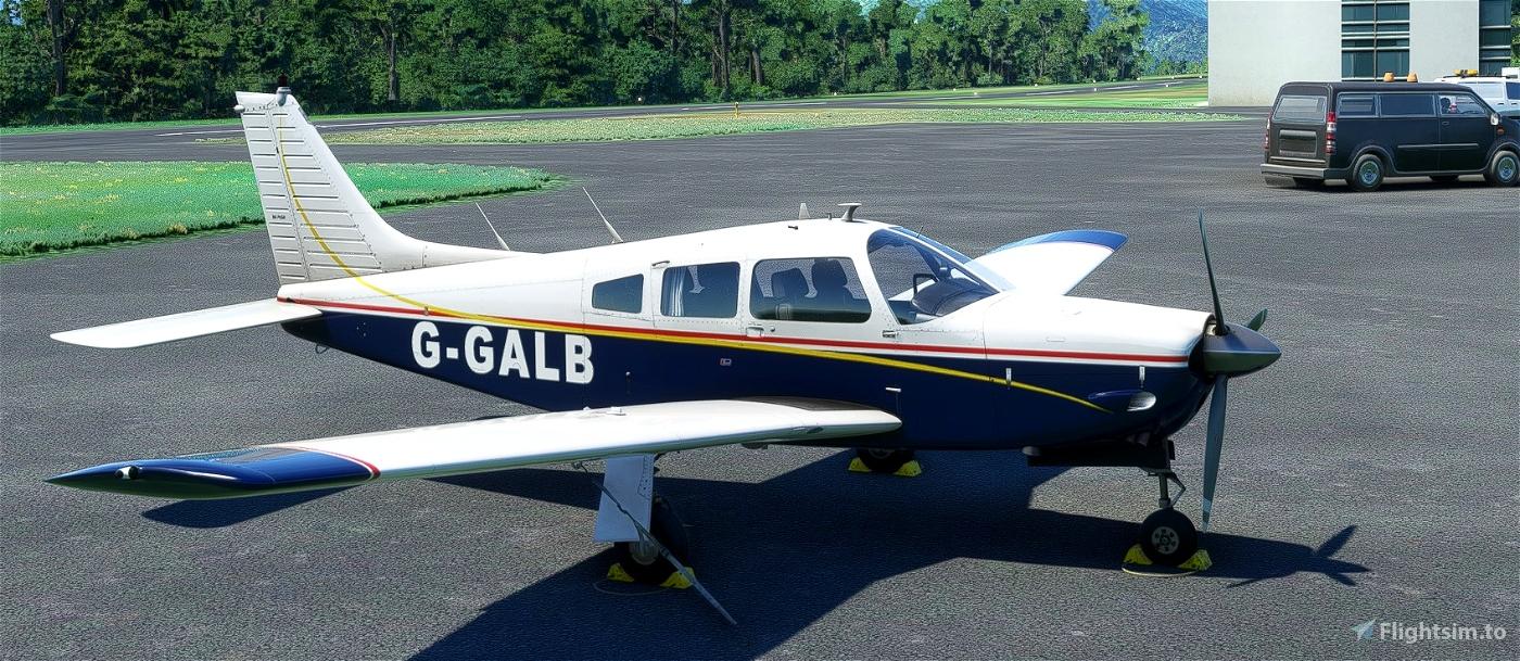 JF Piper Arrow III G-GALB Flight Simulator 2020