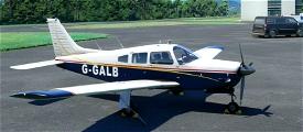 JF Piper Arrow III G-GALB Image Flight Simulator 2020
