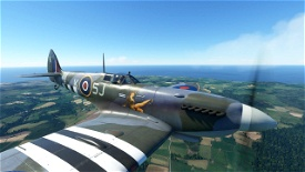 Spitfire Mk IXc Muscat Girl Image Flight Simulator 2020
