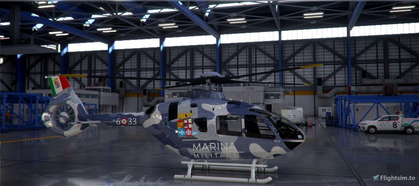 H135 Italian Military Marine (inspired) Flight Simulator 2020