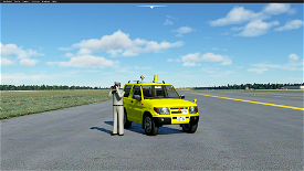 [DRIVABLE] CAR Mitsubishi PAJERO Image Flight Simulator 2020