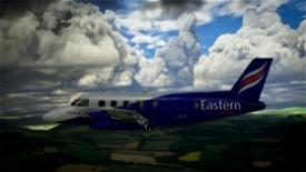 NextGen Simulations EMB-110 Bandeirante Eastern Airways Image Flight Simulator 2020