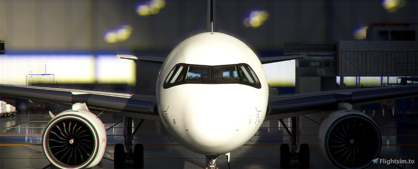 [A32NX] [FBW] INDIGO AIRLINES [8K] No Text Mirroring