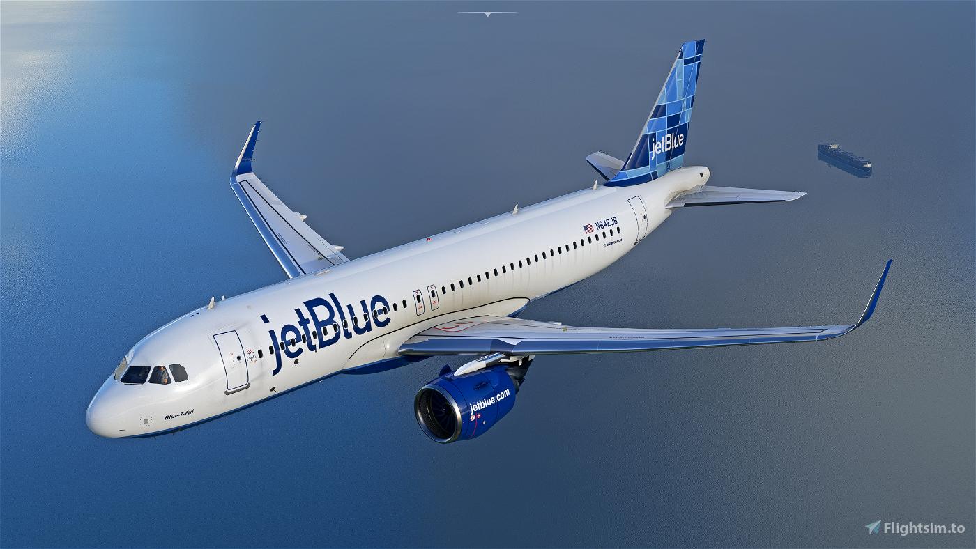 JetBlue - Mosaic [8K] - FBW A32NX