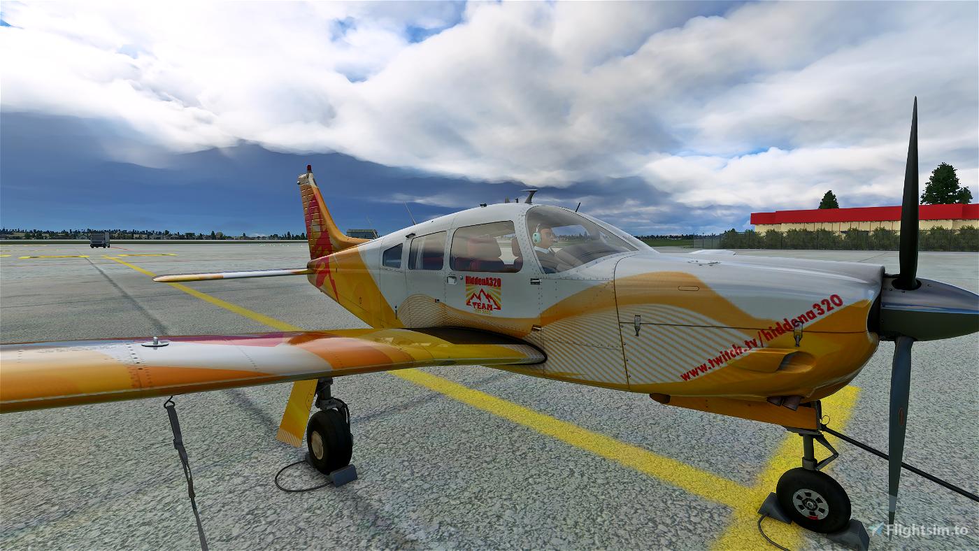 JustFlight Piper Arrow III HiddenA320