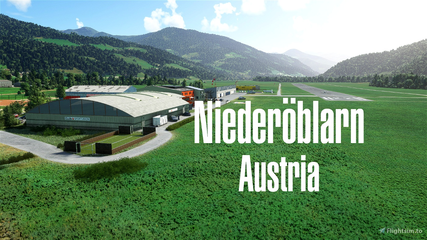 LOGO Niederöblarn/Austria Flight Simulator 2020