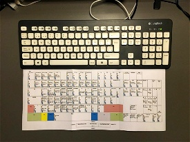 Customizable Keyboard Layout with Default MSFS Commands Image Flight Simulator 2020