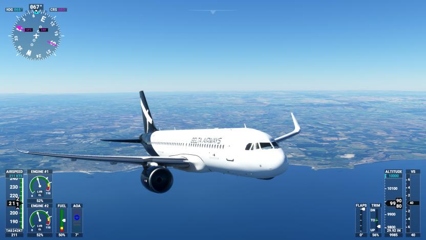 Airbus A320neo Belta Airways [8K]