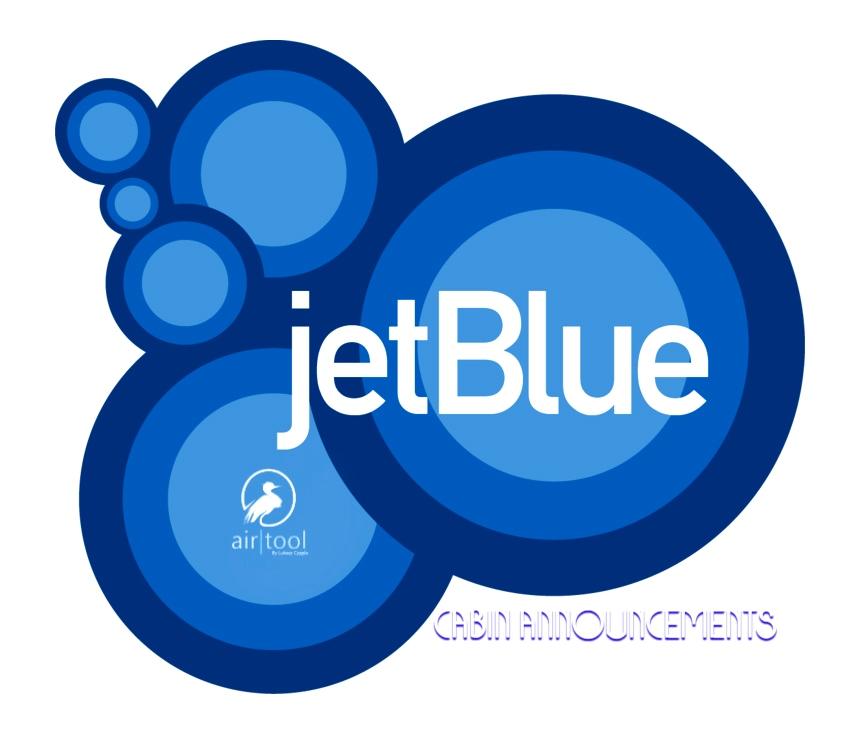 LukeAir Tool - jetBlue Cabin Announcements Flight Simulator 2020