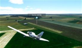 Terrain ULM Rouvres LF1454 Image Flight Simulator 2020