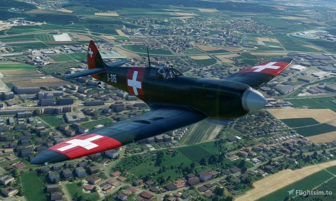Spitfire J-315 Swiss Air Force