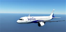 [A32NX] [FBW] INDIGO AIRLINES [8K] No Text Mirroring Image Flight Simulator 2020