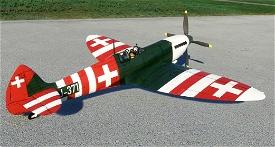 Spitfire J-371 Swiss Air Force Image Flight Simulator 2020