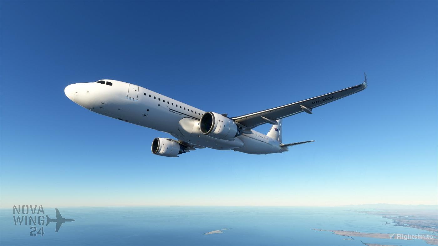 Airbus A32NX FBW VH-VCJ