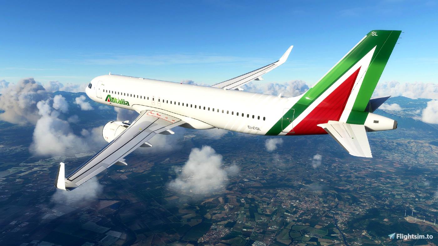 Alitalia A320Neo [8K] - FBW A32NX