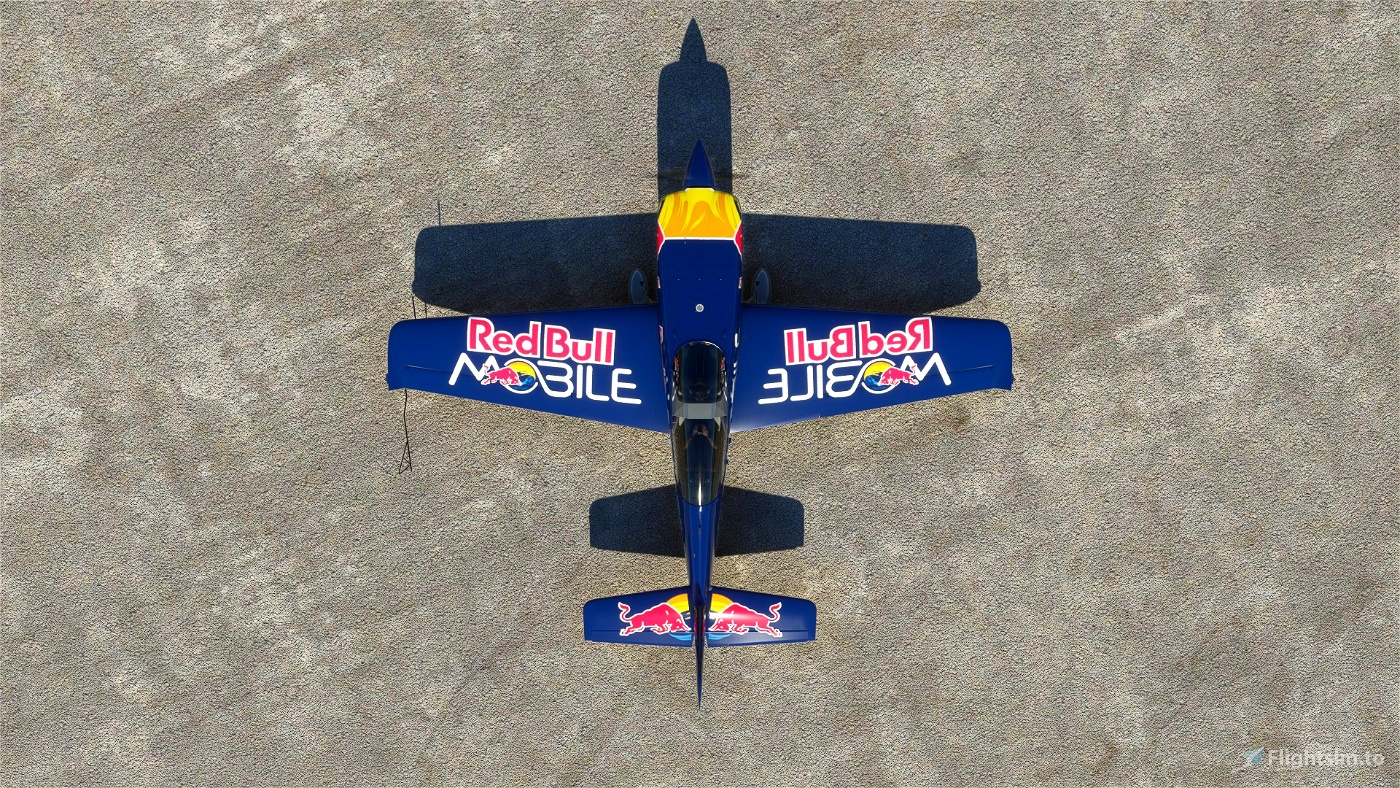 EXTRA330 HA-PET - Red Bull Mobile Livery (Peter Besenyei)