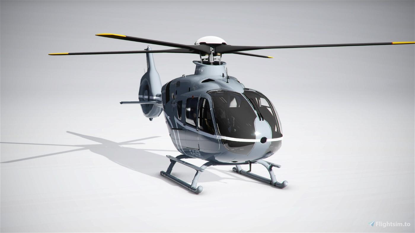 Airbus H135 Corse Helicoptere Flight Simulator 2020