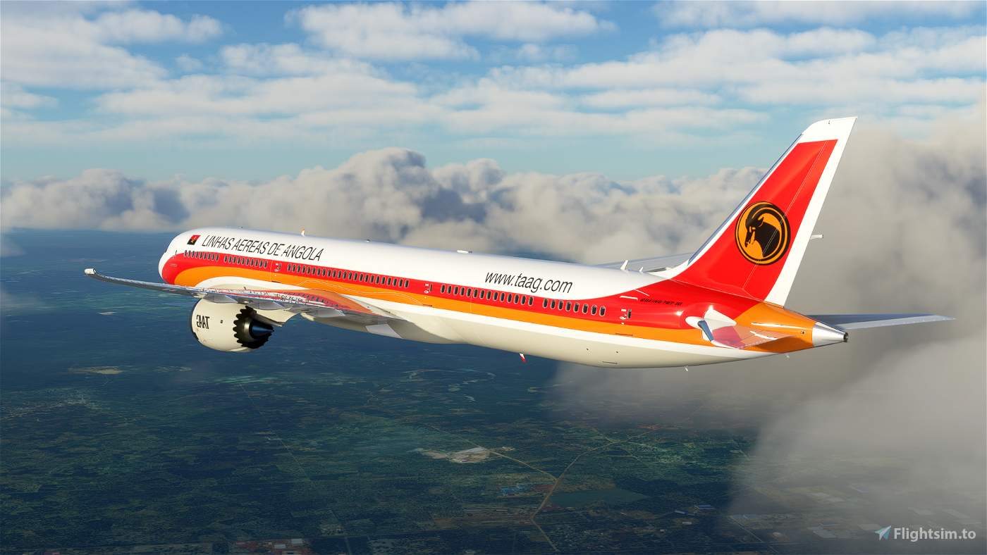 TAAG Angola Airlines Boeing 787 - 8K