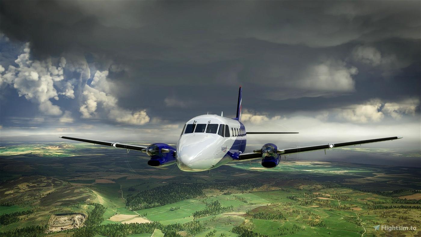 NextGen Simulations EMB-110 Bandeirante Eastern Airways
