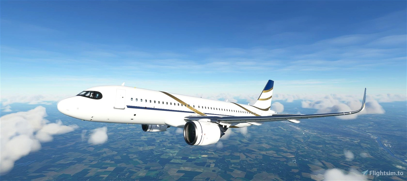 FBW A32NX Comlux Aviation Airbus ACJ320neo (9H-NEW)  Flight Simulator 2020