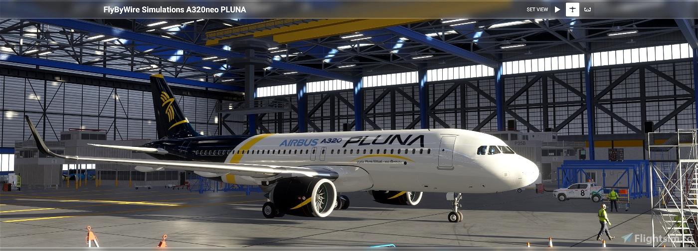 [A32NX] flybywire PLUNA Primera Líneas Uruguayas de Navegación Aérea