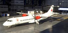Red Cross ATR-72-600 Livery Image Flight Simulator 2020